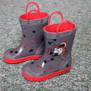 Kamik Astronaut Rain Boots Toddler/Kids Size 8